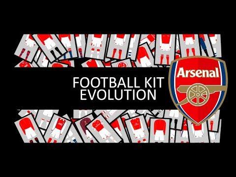 History of Arsenal Football Kit
