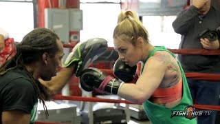 Heather Hardy vs. Noemi Bosques full video- Complete Hardy media workout