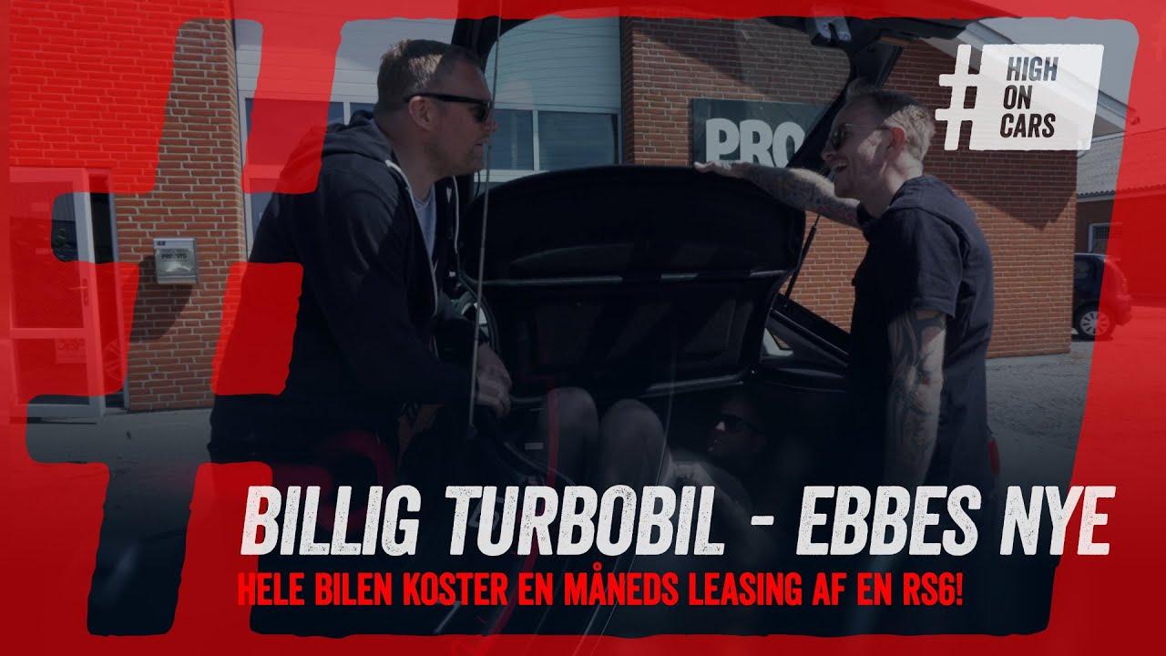 Ebbe har købt  en meget billig turbo-bil. Niels giver den øksen