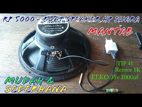 5000 rupiah bisa buat Amplifier/power audio buat HP.. lagu d hapus kena hak cipta.. cek video trbaru