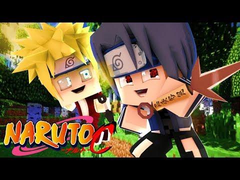 Minecraft - NARUTO C 2 - NOVA JORNADA NINJA  NARUTO E SASUKE !