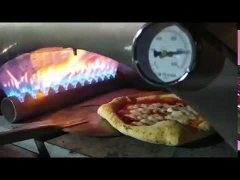 Pizza margherita forno a gas portatile nonno lillo youtube for Affumicatore portatile