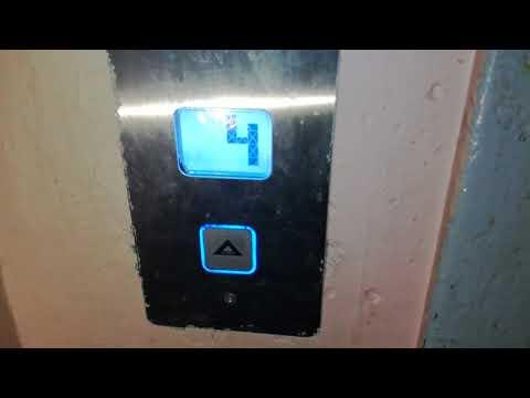 Электрический лифт (МЛЗ-1977 г. в. мод. MP-2015 г. в.) V=0,71 м/с грузоподъемность 320 кг. (1)