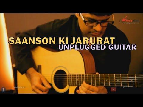 Saanson ki Jarurat hai Jaise (Guitar Unplugged)   Aashiqui 1 Movie Song Leads, Chords, Tabs, Lesson