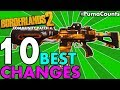 Top 10 Most Improved Guns and Weapons From Borderlands 2 Community Patch 4.1 Best Weapon Changes