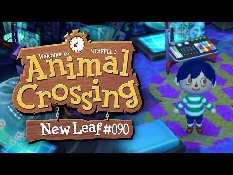 Space-Astrozimmer in Schwarz Blau UHH! ★ Animal Crossing New Leaf【S02#090】