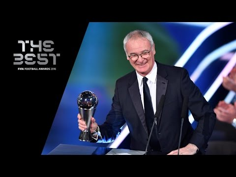 THE BEST FIFA MEN'S COACH 2016 - Claudio Ranieri WINNER