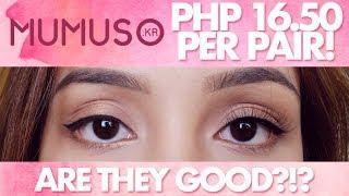 SUPER CHEAP False Eyelashes | Mumuso 100% Handmade False Eyelashes Review | Best False Eyelashes