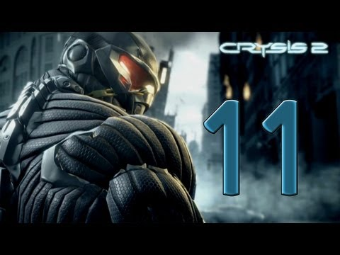 Crysis 2 - Part 11 - Acquire vehicle. I WANT IN! - W/Commentary