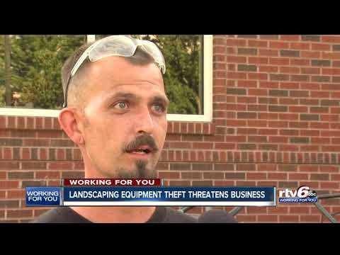 Landscaping Equipment Theft Threatens Business