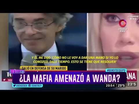 ¿La mafia amenazó a Wanda?