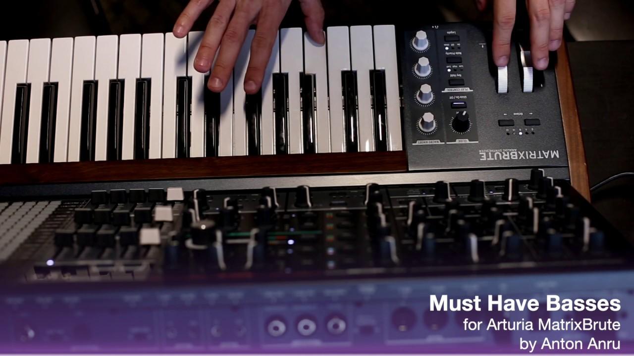 LFO Store releases 64 'Must Have' Presets for Arturia MatrixBrute