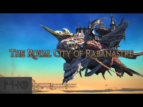 FFXIV - Royal City of Rabanastre: First Run with Stream Raid PF & Cutscenes