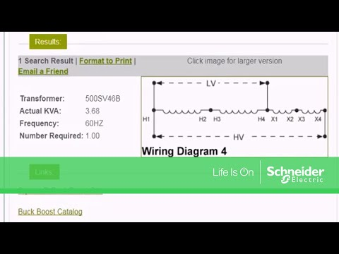 schneider electric buck boost calculator: part 2 - using the tool