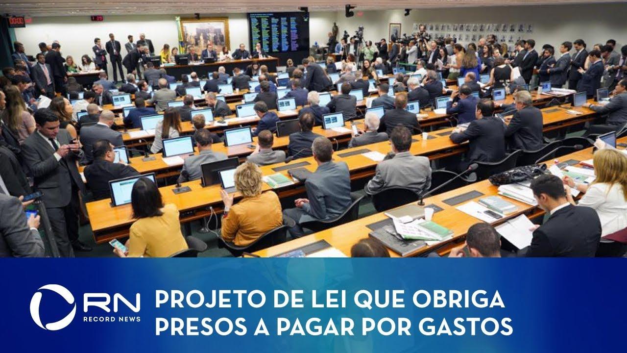 Resultado de imagem para BRASIL: CCJ APROVA PROJETO QUE OBRIGA PRESO A PAGAR POR GASTOS NA CADEIA