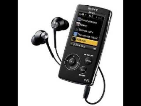 NWZ A816 Sony 4GB mp3 player