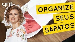 Como organizar sapatos | Dica de Organização | Micaela Góes
