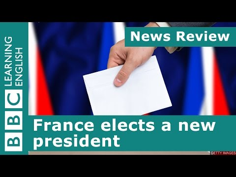 BBC News Review: France elects a new president
