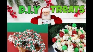 Holiday Treats! Brownies, Popcorn and Pretzels OH MY!