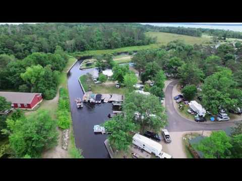 Stony Point Resort Aerial