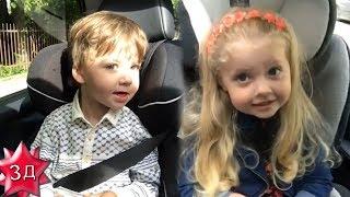 ДЕТИ ПУГАЧЕВОЙ И ГАЛКИНА: Свежее видео - Лиза и Гарри поют песни   прямо в машине!