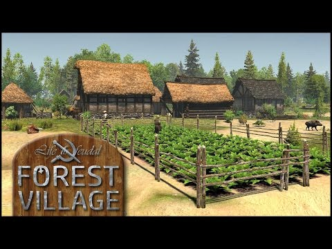 Angst um die Kartoffeln  - Life is Feudal: Forest Village #02 [Gameplay German Deutsch] [Let