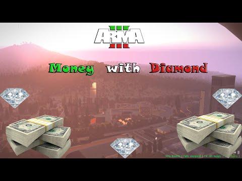 Arma 3 Italia City Life-Money With Diamond