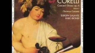 Corelli Concerto Grosso Op6 no 7 - Europa Galante ( 1of 5)