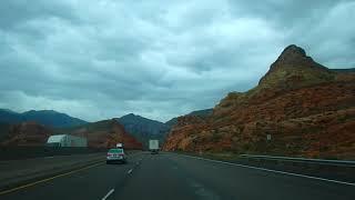 ???? Дорога в Las Vegas Nevada ???? путешествие по штатам США АВТОДОМ 16.04. 2019 / Видео