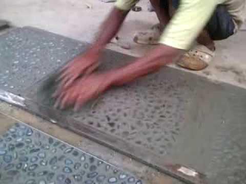 Cara Membuat Keramik Batu Untuk Taman Outdoor Batu Timbul