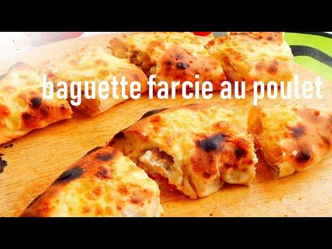 باكيط-بحشوة-بالسكالوب-رائعة-baguette-farcie-au-poulet@المطبخ-التونسي-زكية---tunisian-cuisine-zakia