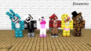 FNAF Monster School Can Can Minecraft Animation Five Nights At Freddy s