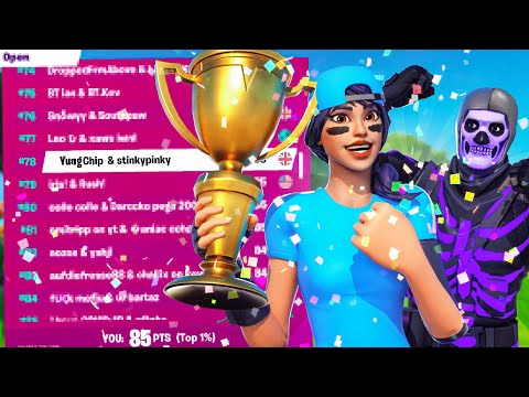 How We Placed 78th In A Competitive Fortnite Tournament...