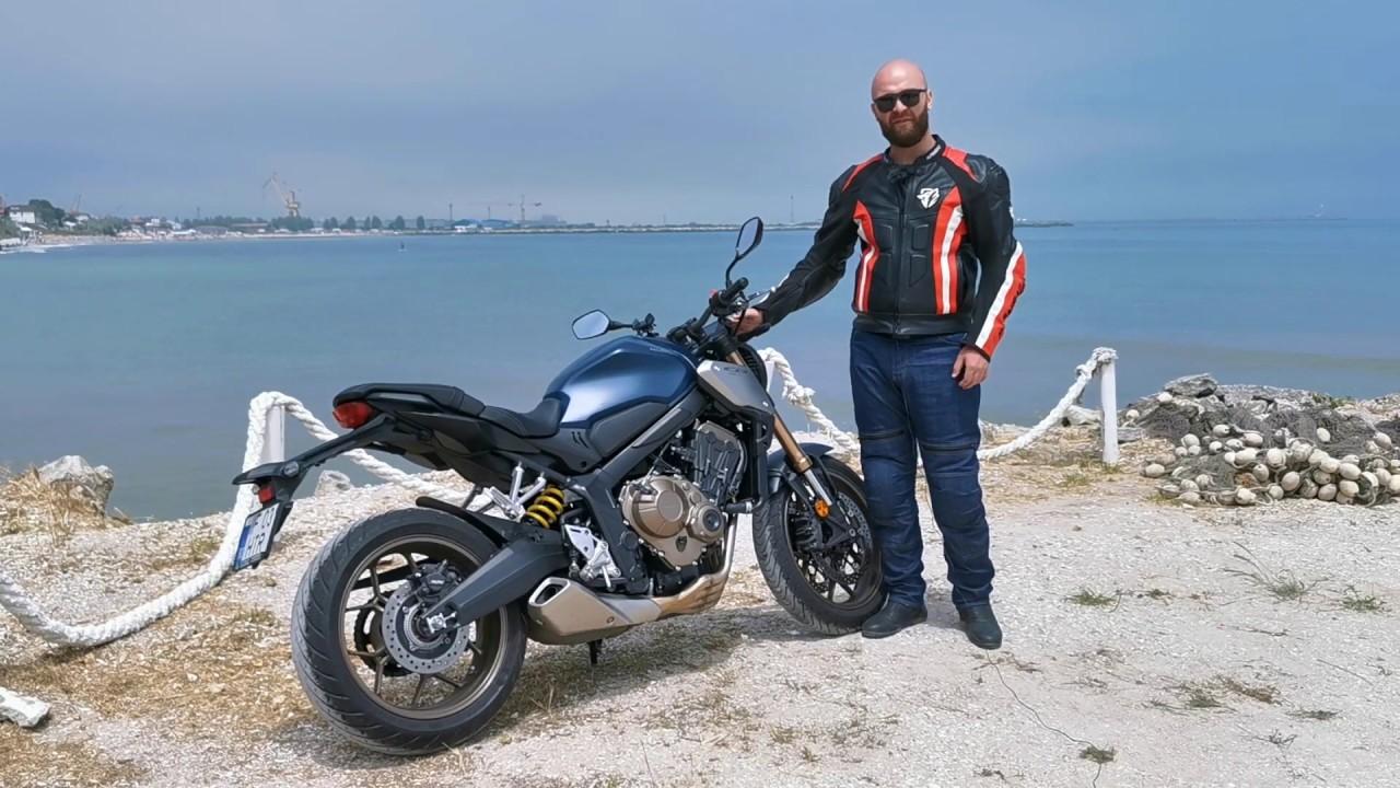 TEST: Honda CB 650 R - Touring cu o motocicleta naked