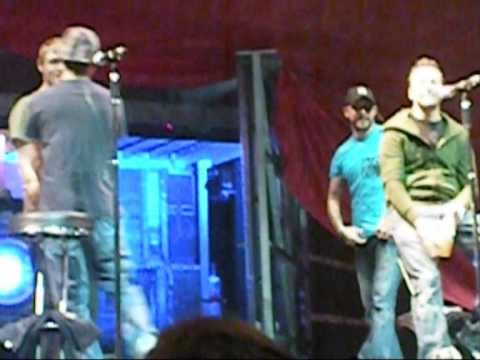 Backstreet Boys @ oberhausen PDA FULL FUNNY VERSION