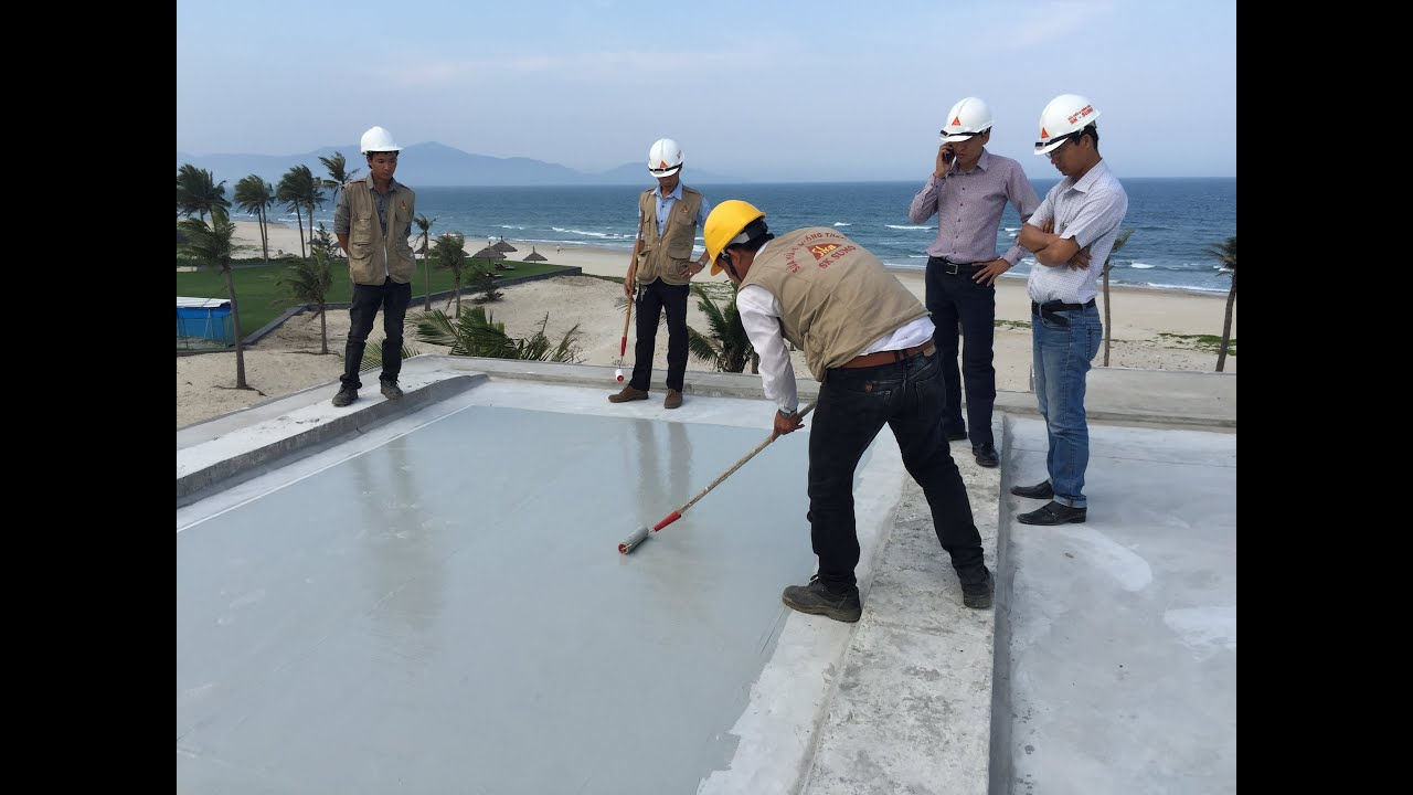 Sikalastic 632 Liquid Applied Membrane For Flat Roof Youtube