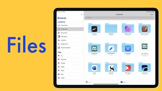The FILES app in iPadOS: What you need to know