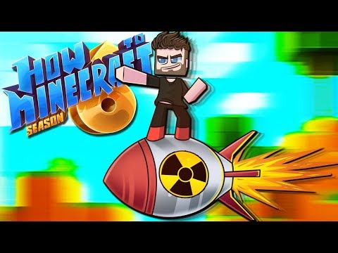 """""""MISSILE RIDING!!"""" - How To Minecraft: Season 6 Experience 38"""