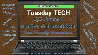 Tuesday Tech - As a group we can answer most anything