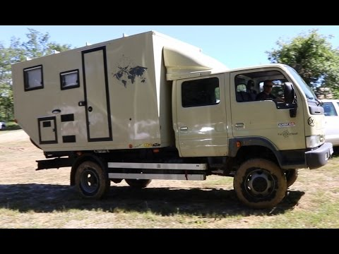 Nissan Cabstar 4x4 Camper Youtube