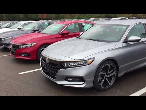 2018 Colors for Honda Accord with Sport trim