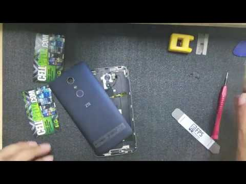 ZTE ZMAX PRO Z981 How To Repair - Glass Lcd - Battery - Charging Port