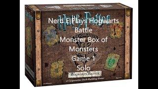 Harry Potter Hogwarts Battle Monster Box of Monsters Box 1