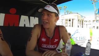 Caroline Steffen at Ironman 70 3 California 2016