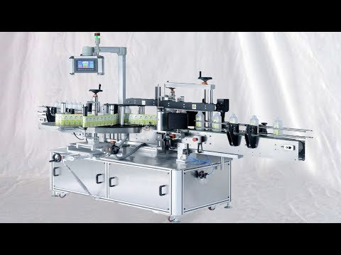 double-face-two-sides-labeling-machinery-automatic-for-round-flat-bottles-etikettiermaschinen-auto