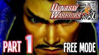"Dynasty Warriors 8 ""Free Mode"" Walkthrough - Part 1 Cao Cao 1080p Ps3"