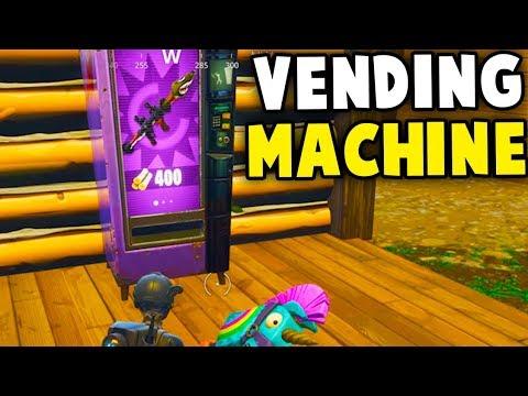 Fortnite Vending Machine Locations and Vending Machines Map