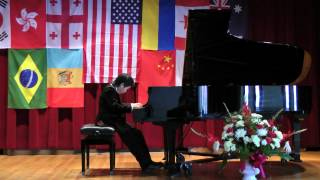 III Chopin International Piano Competition,Hartford,CT I Prize Winner Shuan Hern Lee