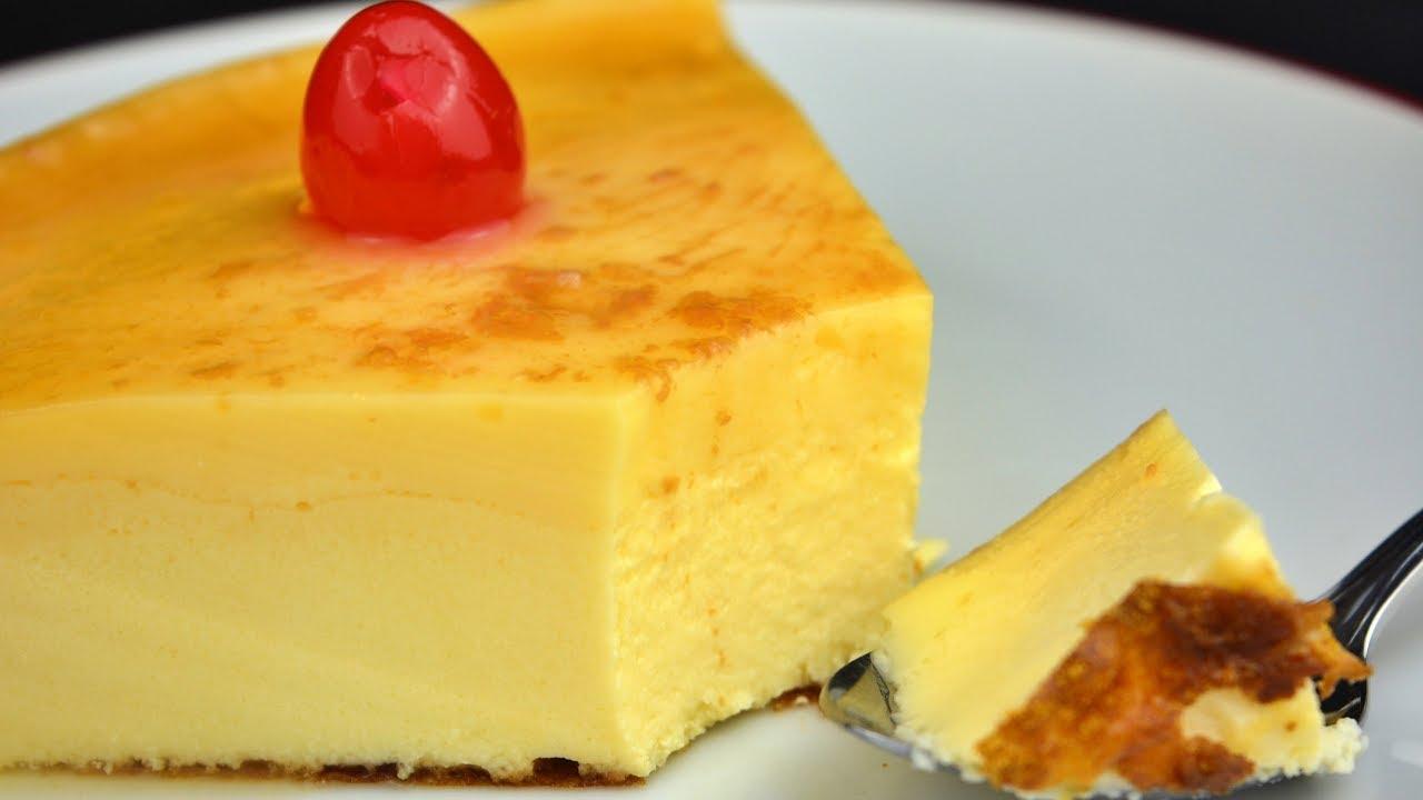 Download Como hacer el mejor flan de queso con caramelo casero