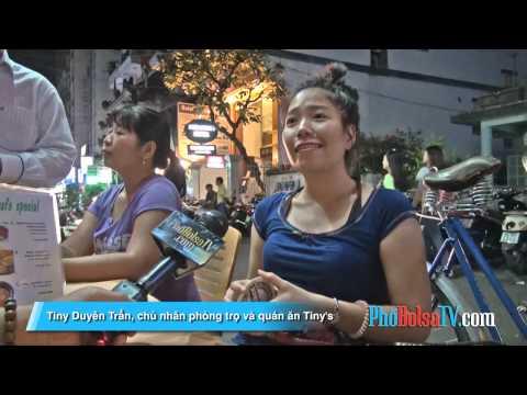 Cô chủ phòng trọ Tiny Duyên Trần kể chuyện khu phố Tây Ba Lô Phạm Ngũ Lão